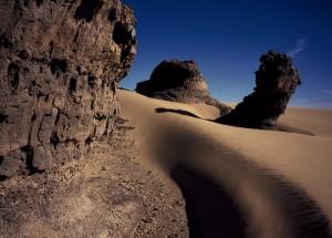 Hoggar. Algérie